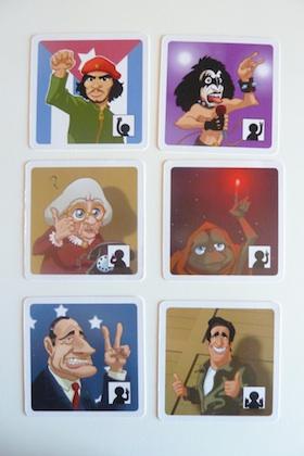 cartas de los 6 jugadores